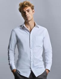 Pánská košile s dl.ruk. Tailored Coolmax®