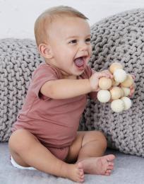Baby Triblend body s krátkým rukávem