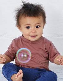 Baby Triblend triko s krátkým rukávem