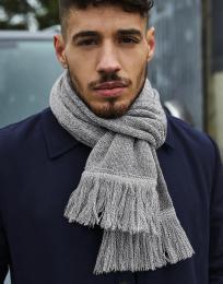 Klasický pletená šála