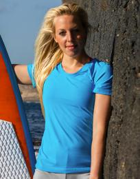 Fitness dámské Shiny Marl T-Shirt