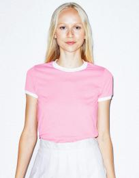 Dámské trièko Poly-Cotton Ringer