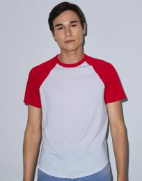 Unisex trièko s raglánovým rukávem Poly-Cotton