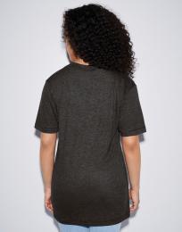 Unisex trièko Tri-Blend s hlubokým V-výstøihem