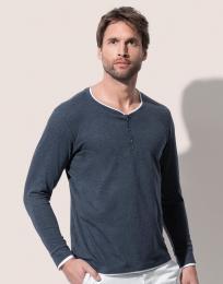 Pánské trièko s dlouhým rukávem Luke Henley