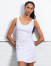 Vykrojené dámské tílkové šaty