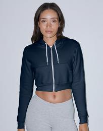 Women s Flex Cropped Zip Hooded Sweat