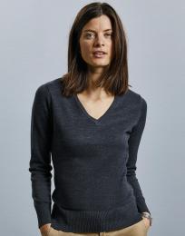 Dámský svetr V-neck