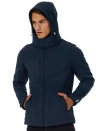 Pánská bunda Softshell Hooded Softshell/men