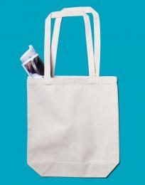 Bavlnìná plátìná taška s boèními panely P/