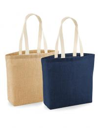 Nelaminovaná Jute Shopper