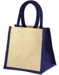 Laminovaná jutová nákupní taška Jaipur