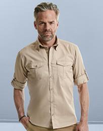 Pánská košile Roll Sleeve s dlouhými rukávy