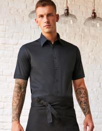 Košile Tailored fit s kr. rukávem  P/