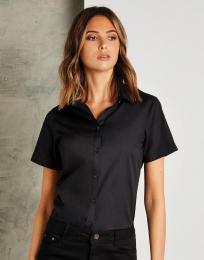 Dámská košile Poplin Tailored fit s kr. ruk.