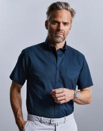 Pánská košile Twill s krátkým rukávem