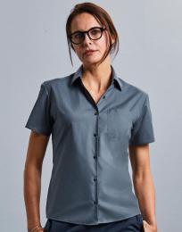 Dámská košile s krátkým rukávem a kapsou