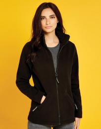 Dámský fleece Regular fit s dl. zipem  P/