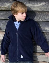Dìtská fleecová bunda na zip