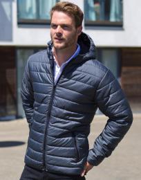 Polstrovaná bunda s kapucí