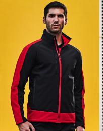 Kontrastní potisknutelná softshell bunda