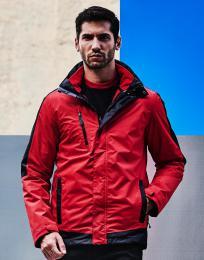 Kontrastní bunda Softshell 3-v-1