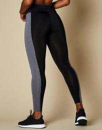 Dlouhé kontrastní legíny Fashion fit  P/