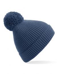 Kvalitní pletená žebrovaná èepice Pom Pom Beanie