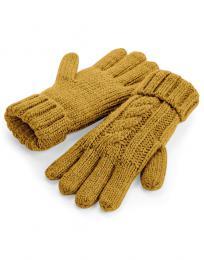 Pletené rukavice Melange