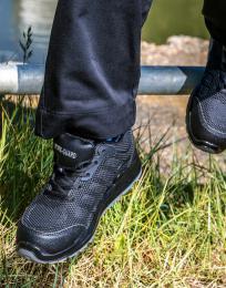 Pracovní tenisky All BlackSafety - velikost bot 3