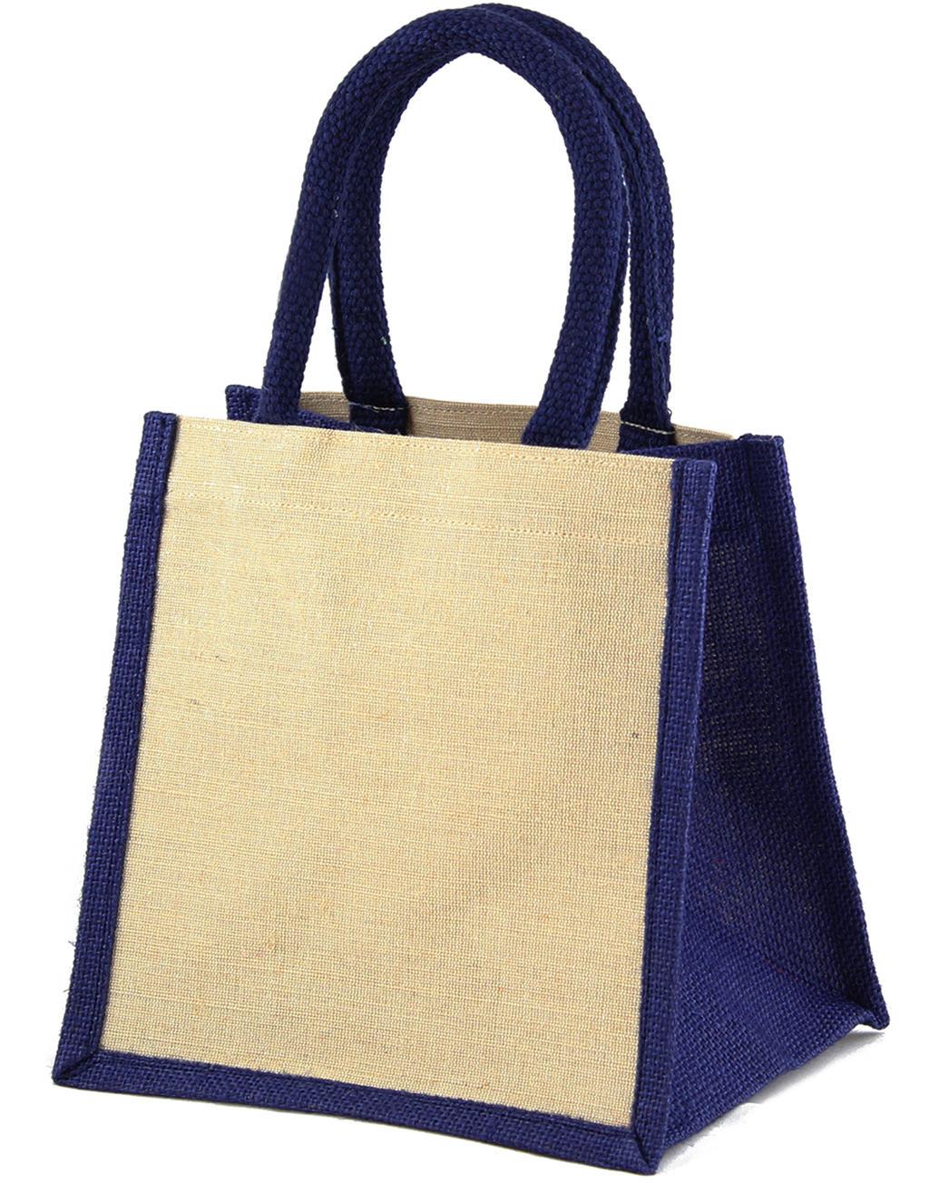 Laminovaná jutová nákupní taška Jaipur - zvìtšit obrázek