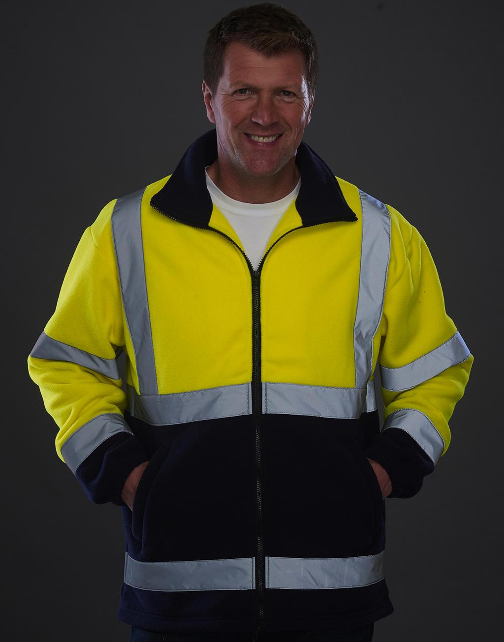 Fleecová bunda Fluo - zvìtšit obrázek