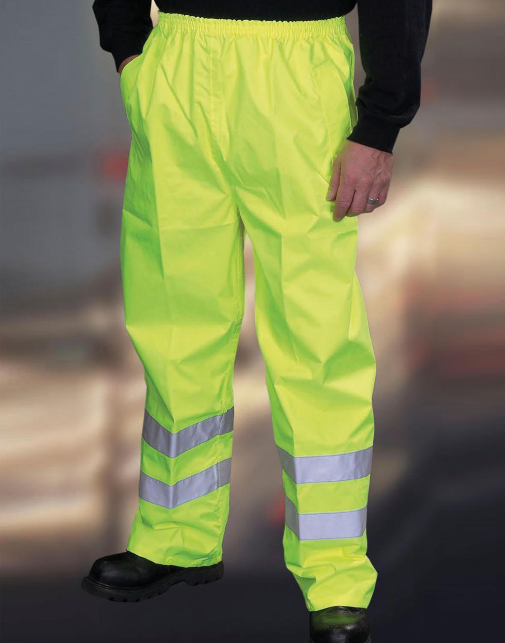Ochranné kalhoty Fluo Yellow - zvìtšit obrázek