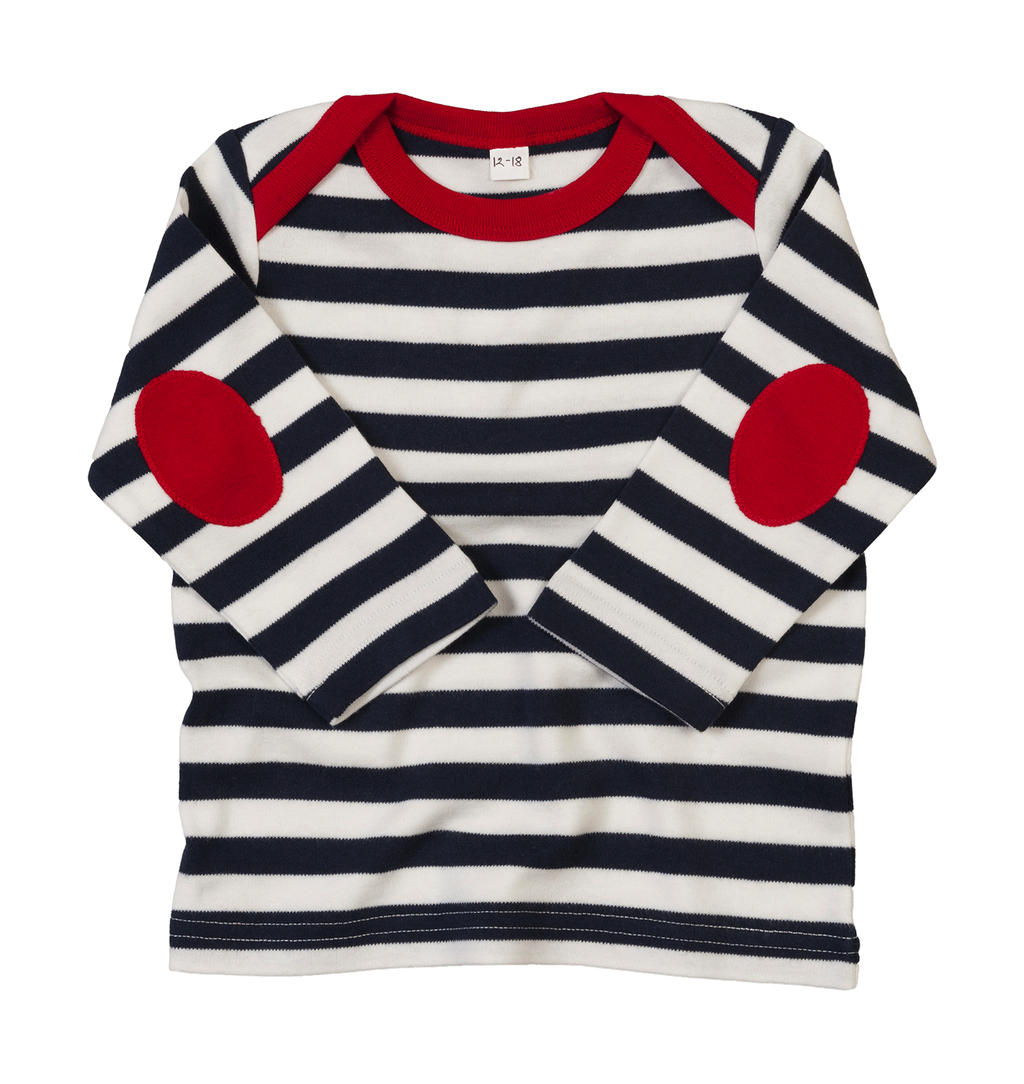 Baby Stripy Long Sleeve T - zvìtšit obrázek