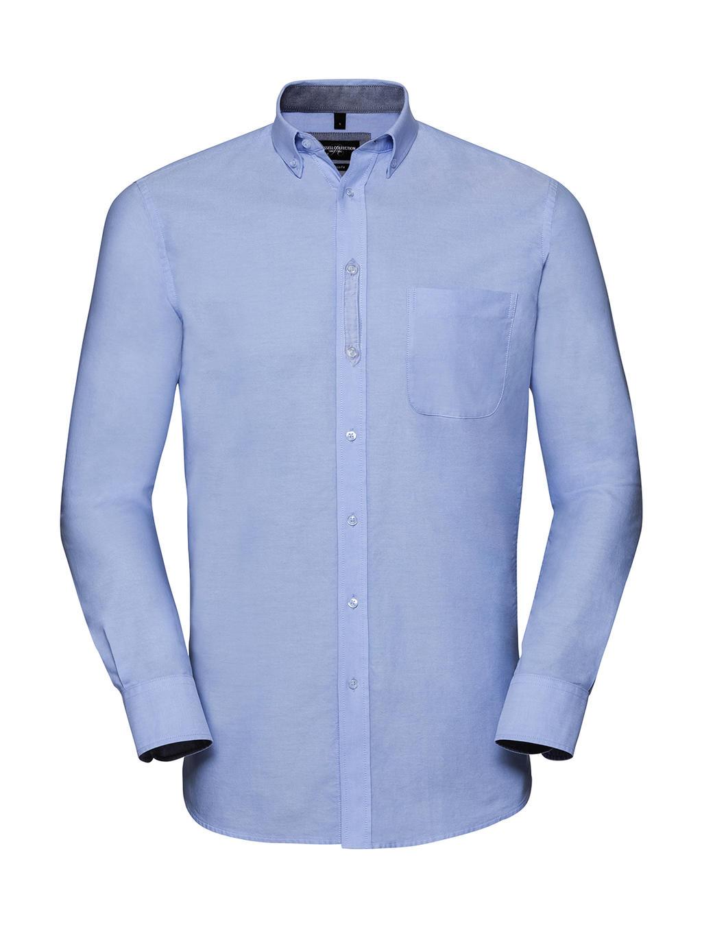 Pánská košile s dl. ruk.Tailored Washed Oxford - zvìtšit obrázek