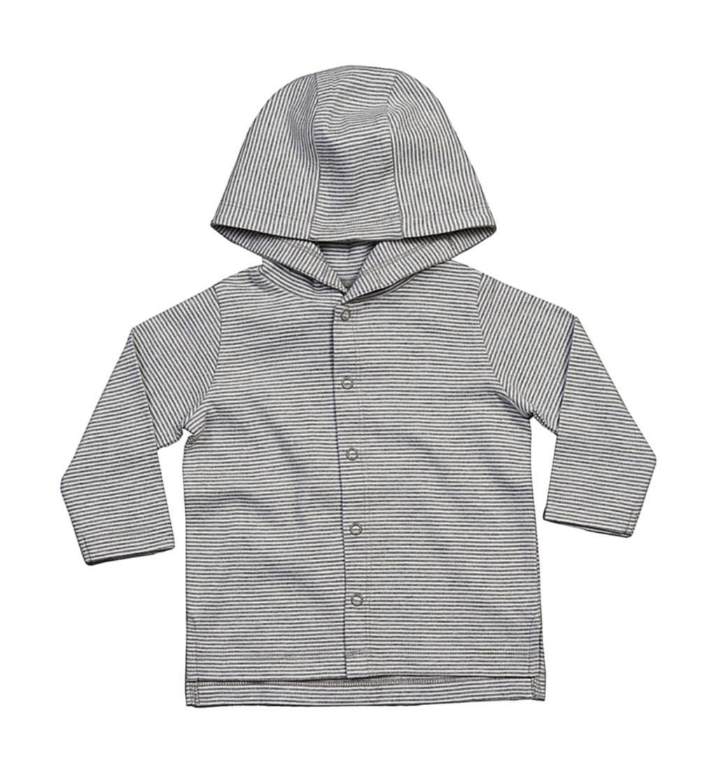 Baby pruhované trièko s kapucí - zvìtšit obrázek