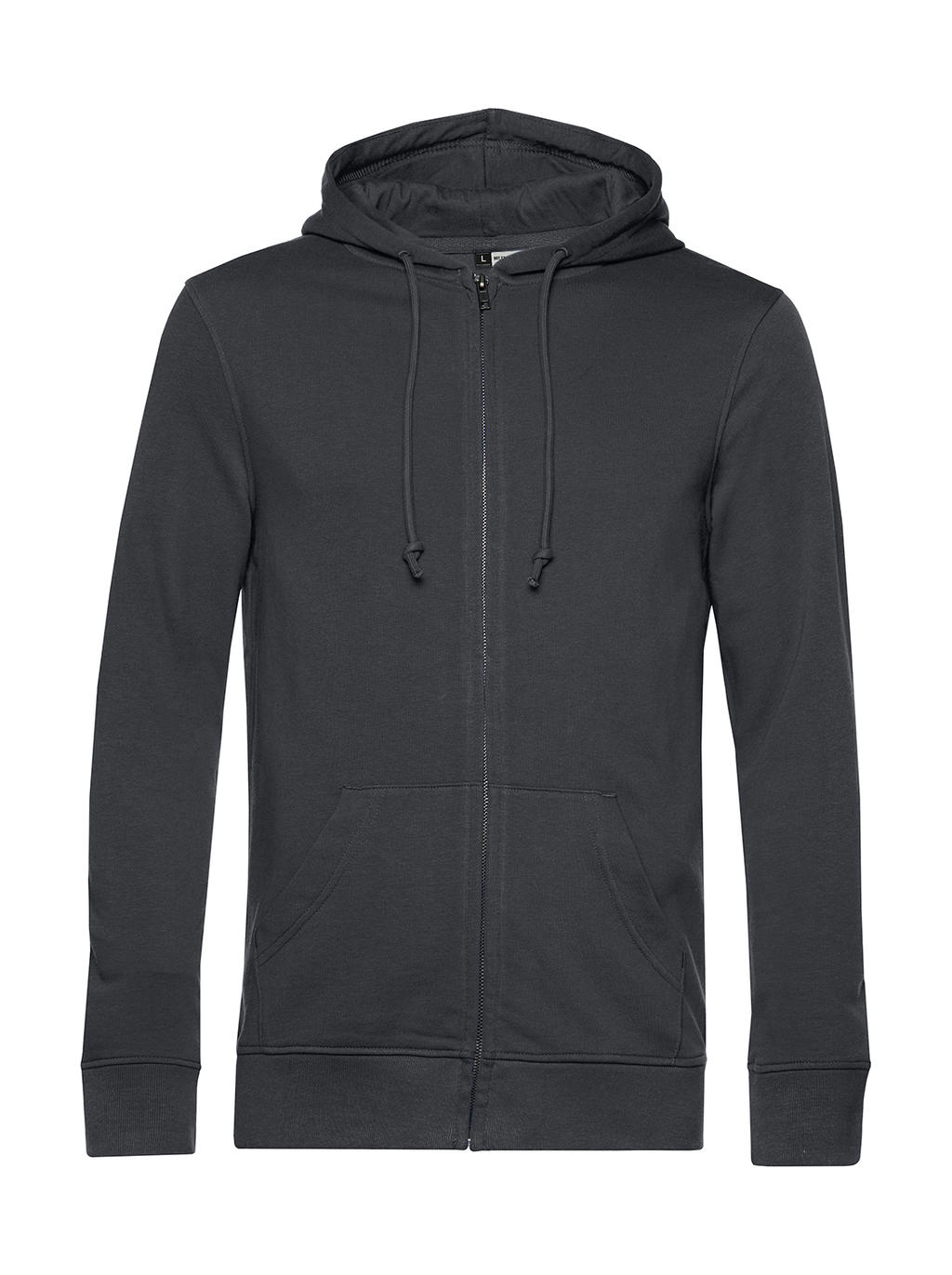 Organic Zipped Hooded - zvìtšit obrázek