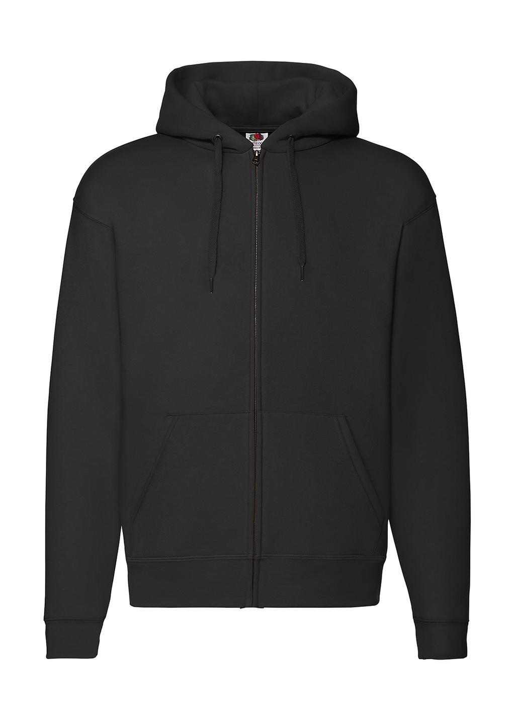 Mikina s kapucí a zipem Premium - zvìtšit obrázek