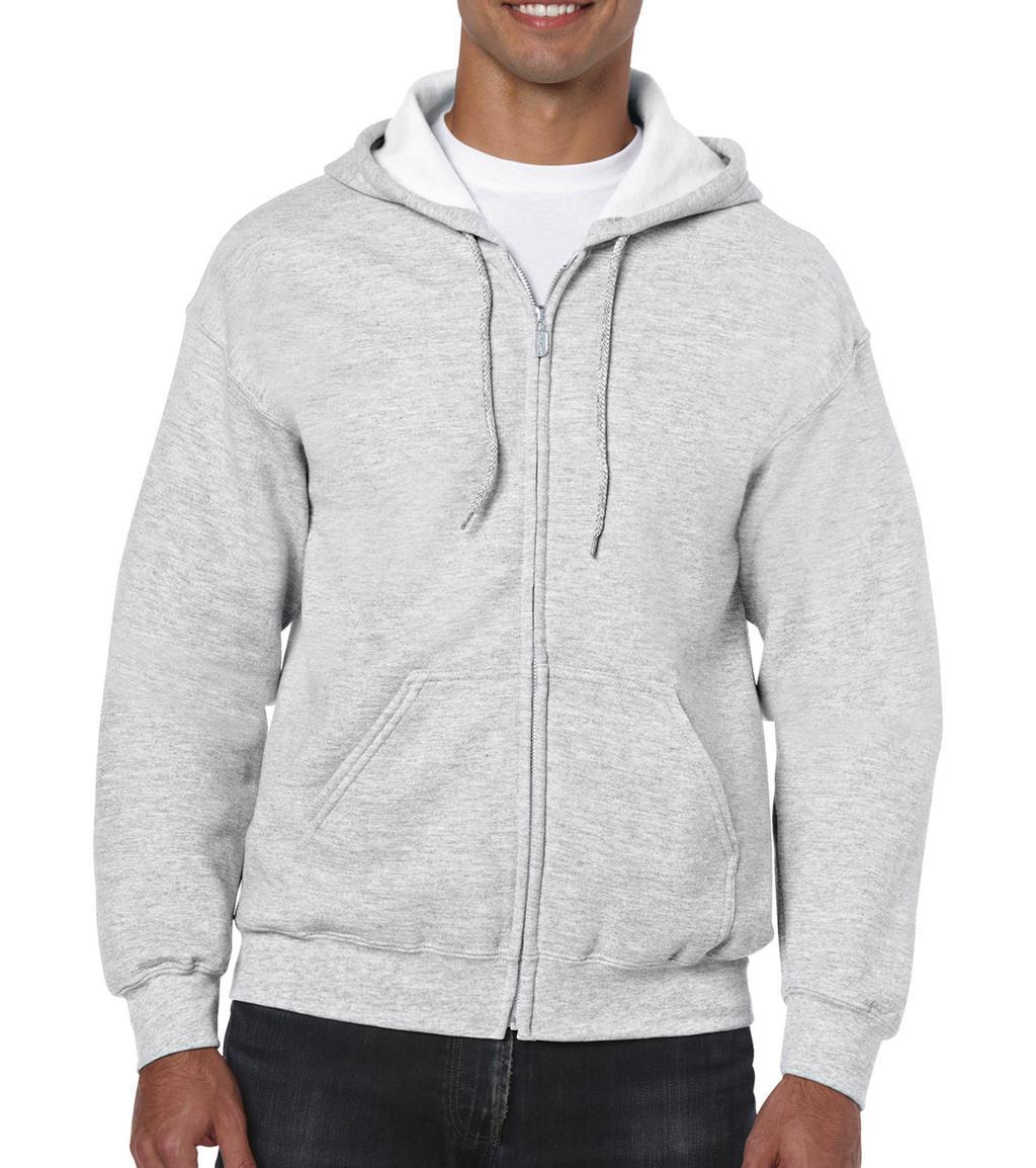 Mikina Heavyweight s kapucí a zipem - zvìtšit obrázek