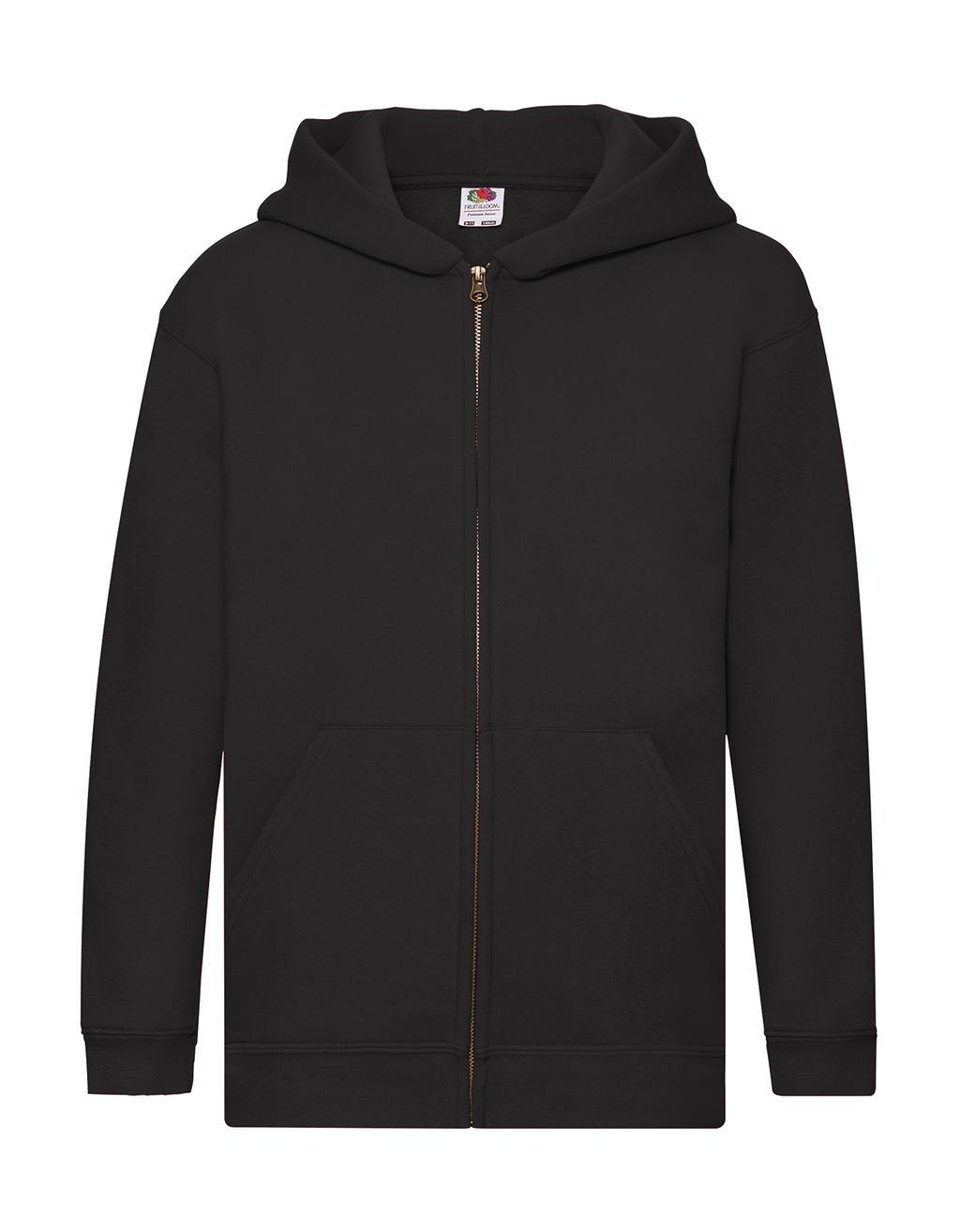 Dìtská mikina s kapucí a zipem Premium - zvìtšit obrázek