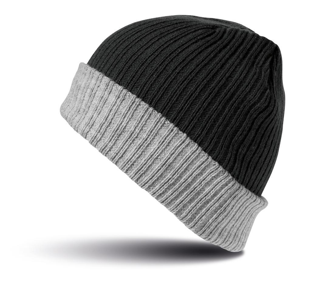 Èepice dvouvrstvová pletená - zvìtšit obrázek