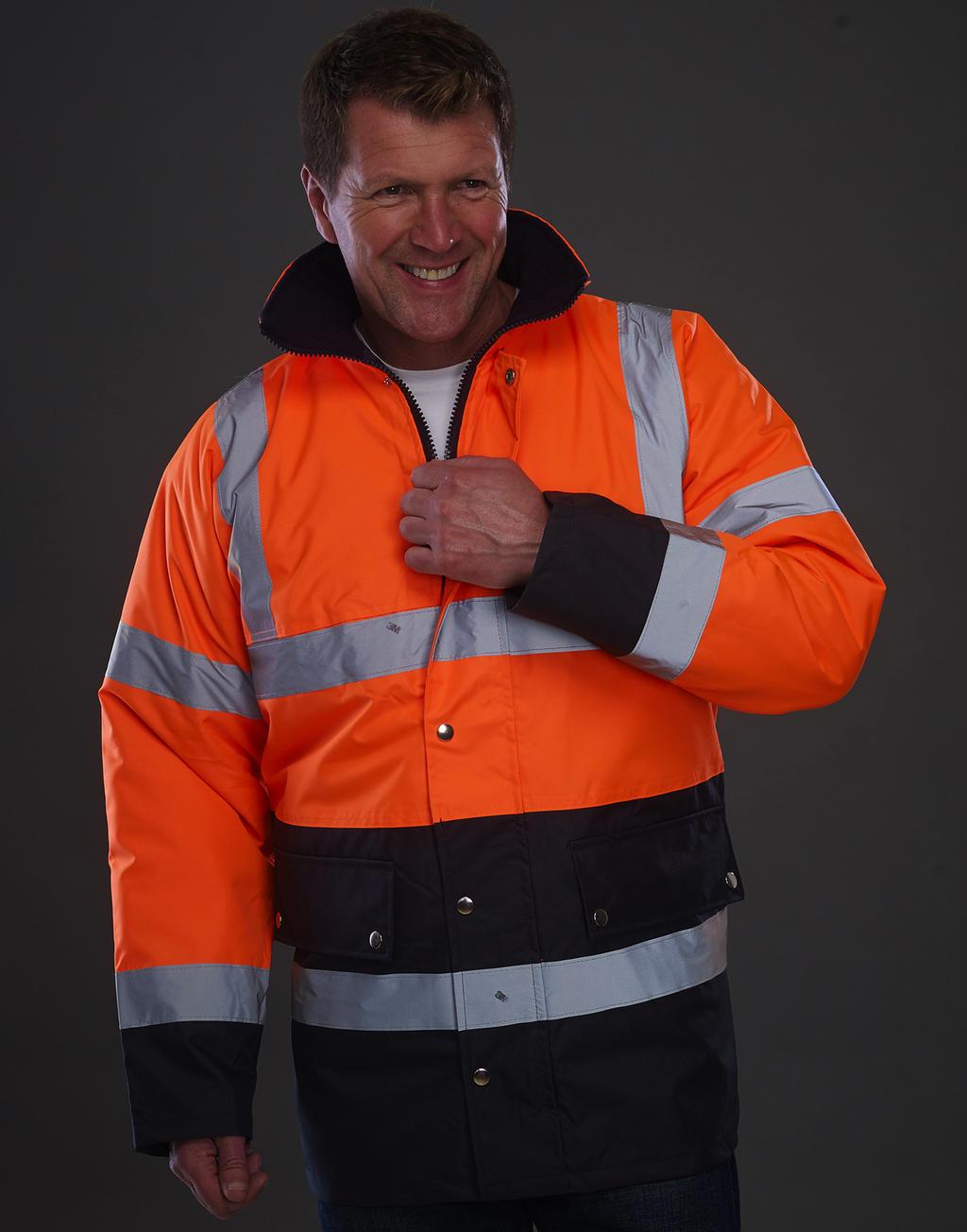 Dvoubarevná bunda Fluo Motorway - zvìtšit obrázek