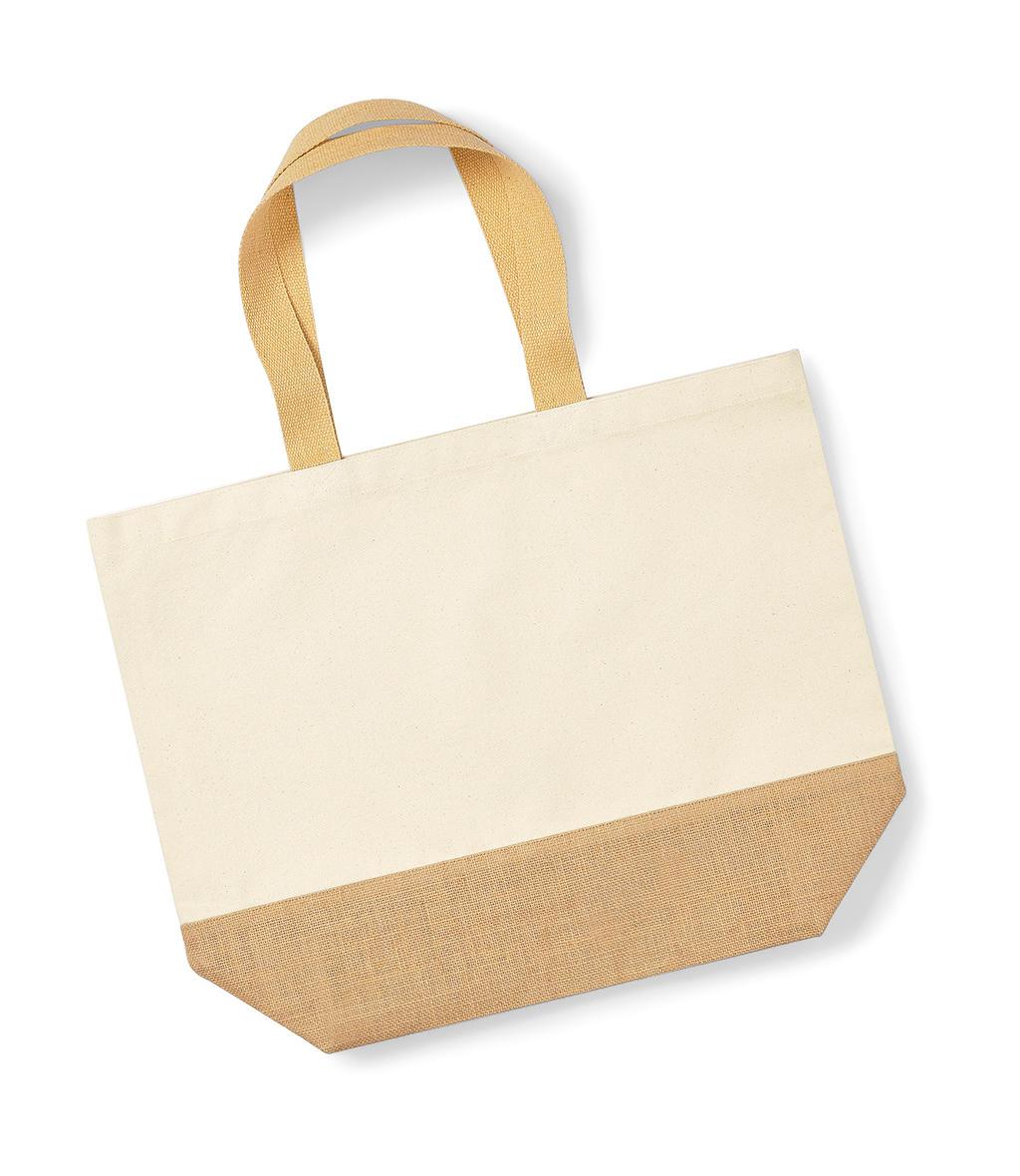 Jutová taška XL Base Canvas Tote - zvìtšit obrázek
