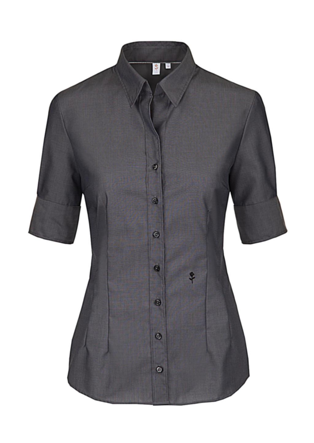 Dámská košile Èerná rùže s krátkým rukávem - zvìtšit obrázek