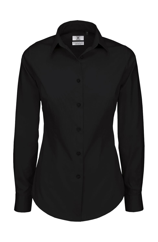 Dámská popelínová košile Black Tie LSL/women - zvìtšit obrázek