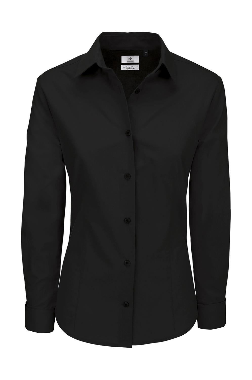 Dámská popelínová košile Black Tie SSL/women - zvìtšit obrázek