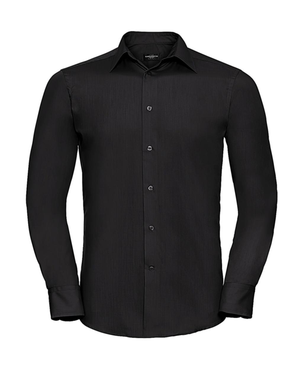 Pánská košile Poplin s dlouhým rukávem - zvìtšit obrázek