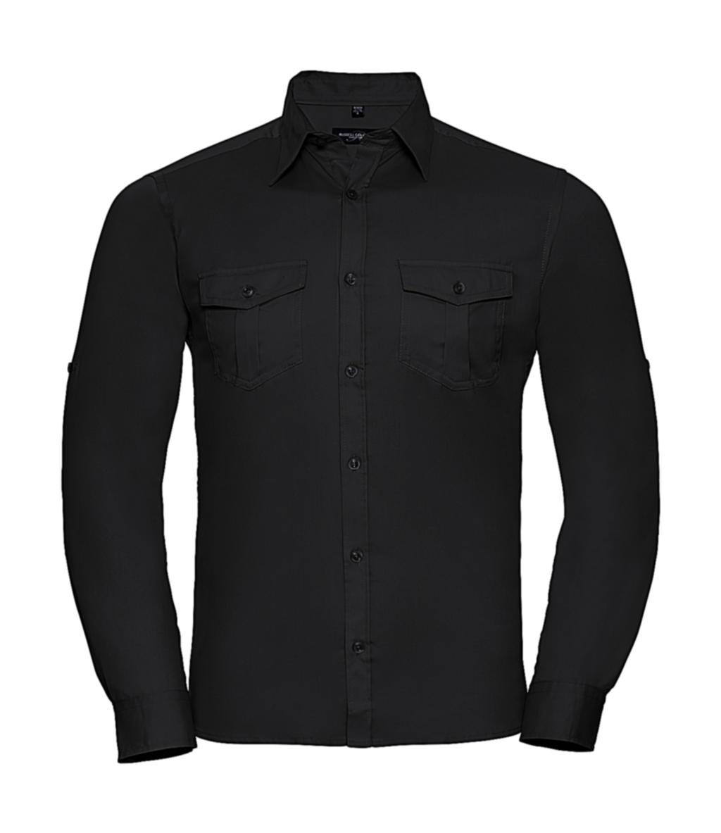 Pánská košile Roll Sleeve s dlouhými rukávy - zvìtšit obrázek