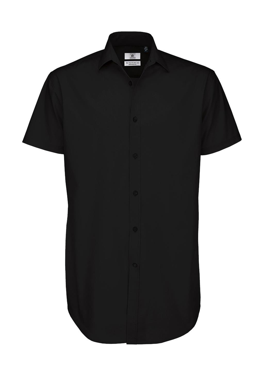 Pánská popelínová košile Black Tie SSL/men - zvìtšit obrázek