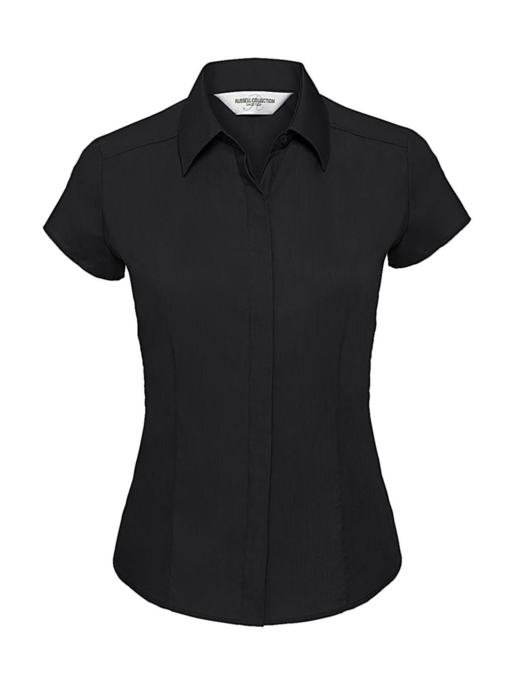 Dámská košile Poplin s krátkým rukávem - zvìtšit obrázek